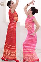 Chinese Ethnic Dancing Costume - Xishuangbanna Dai Zu