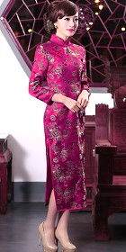 3/4-length Long-lenthg Cheongsam (CM)