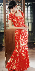Long-length Fishtail Cheongsam (RM)