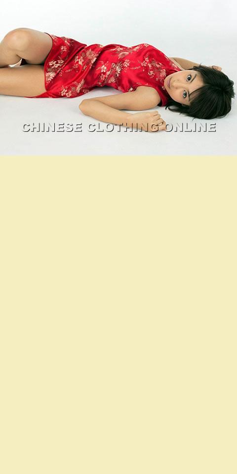 Sleeveless Long-length Cheongsam (CM)