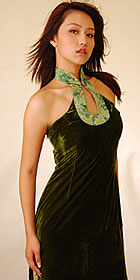 Sleeveless Bareback Long-length Cheongsam (CM)
