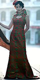 Sleeveless Long Cheongsam (CM)