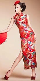 Bare Shoulders Fishtail Cheongsam (CM)
