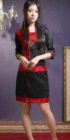 Mid-sleeve Short-length Cheongsam (CM)