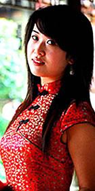 Cup-sleeve Mid-length A-line Cheongsam (CM)
