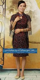 Short-sleeve Mid-length Cheongsam (RM)
