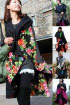 Ethnic Reversible Cotton Linen Vest Manteau
