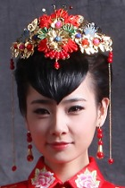 Luxurious Flower Headgear
