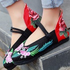 Chinese Ethnic High Heel Counter Embroidery Shoes (RM)