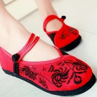 Chinese Ethnic Shoes w/ Embroidery and Frog (RM)