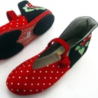 High Heel Counter w/ Embroidery Chinese Ethnic Shoes (RM)