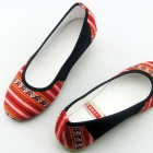 Ethnic Embroidery Low Heal Shoes (RM)