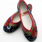 平跟葫蘆結鞋 (成品)