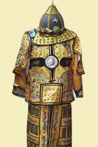 Eight Banners' Deluxe Armour Set of Qing Dynasty (CM)