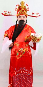 Chinese God of Wealth Outfit