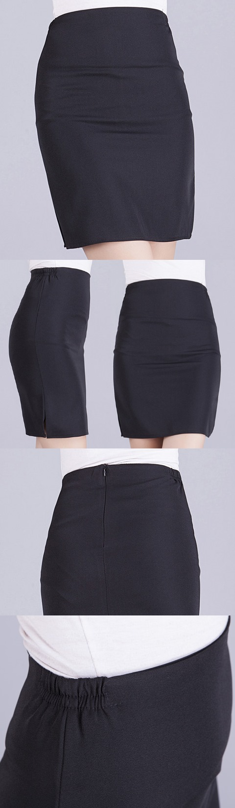 Restaurant Uniform - Waitress Skirt (Black)