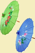 Chinese Floral Umbrella (Multicolor)