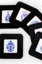 Chinese Ethnic Coaster (6 pcs)