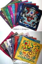 中國風刺繡布藝餐桌墊 (4個)