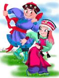 Menggu Zu 蒙古族