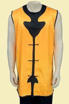 Round Collar Spade Applique Kung Fu Majia/Vest (CM)
