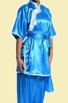 Women Inclined-lapel Ruyi Applique Kung Fu Blouse (CM)