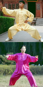 Mandarin Collar Binding-cuff Kung Fu Suit (CM)