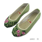 Delicate Floral Embroidery Shoes (RM)