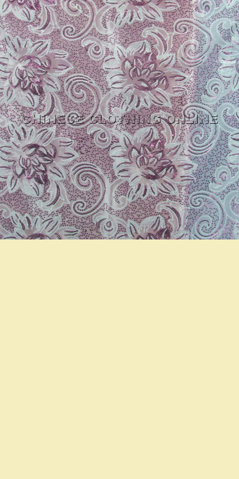 Fabric See Through Embroidery Gauze Orchid Eg Jch