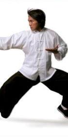 Mandarin Collar Folding-cuff Kung Fu Suit (CM)