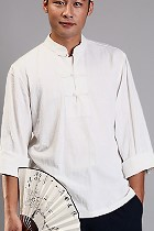Long-sleeve Mandarin Collar Pullover Duangua CM)