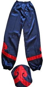 Kung Fu Pants w/ Spade Applique (CM)
