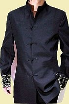 Bargain - Modernised Mao Suit w/ Brocade Cuffs (RM)
