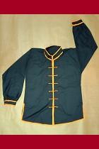 Bargain -Mandarin Collar Long-sleeve Kung Fu Shirt
