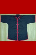 Bargain -Mandarin Collar Short-sleeve Kung Fu Shirt