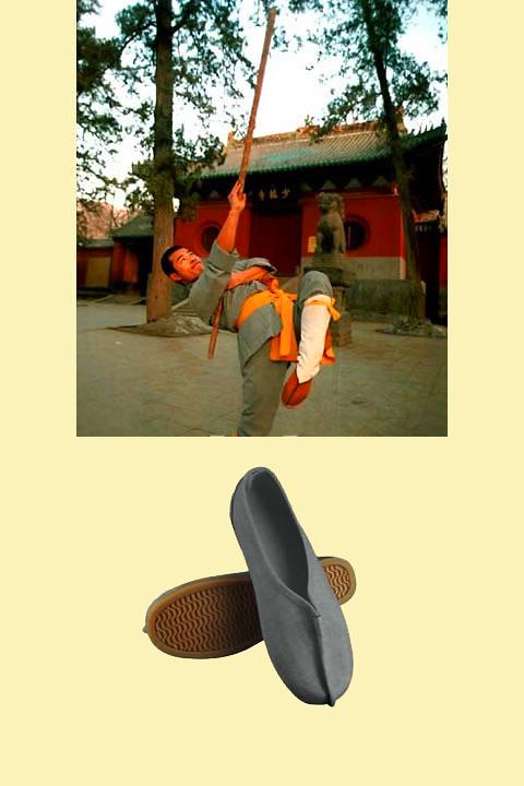 Bargain - Shaolin Monk Shoes - Grey