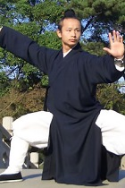 Bargain - Wudang Taoist Long Robe with Open Cuffs