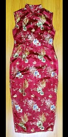 Bargain - Sleeveless Long-length Cheongsam