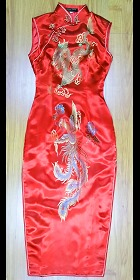 Bargain - Sleeveless Long-length Cheongsam (CM)