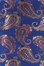 Fabric - Cashew Flower Brocade (Multicolor)