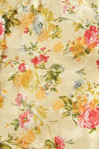 Fabric - Camellia & Small Phoenix Brocade