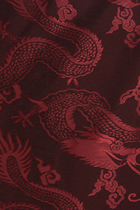Fabric - Large Dragons Jacquard