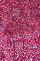 Fabric - Rose Silk Brocade (Multicolor)