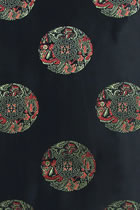 Fabric - Huddling Dragon Brocade (Multicolor)