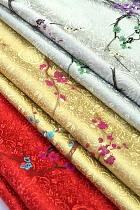 Fabric - Plum Blossom Brocade (Multicolor)