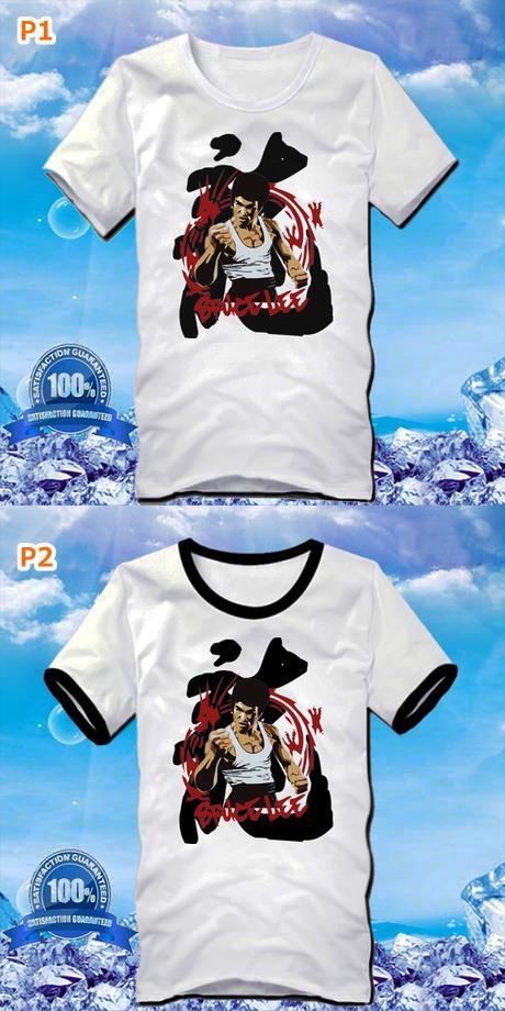 Bruce Lee Cotton T-Shirt (RM)