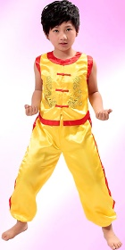 Kid's Double-Dragon Kung Fu Uniform (RM)