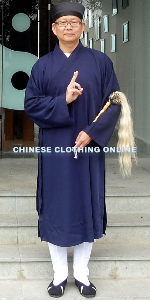 Wudang Taoist Long Robe with Open Cuffs (CM)
