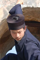 Taoist Scarf Hat - Hunyuan Jin