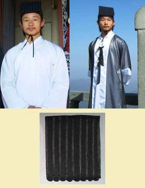 Taoist Scarf Hat - Jiuliang Jin